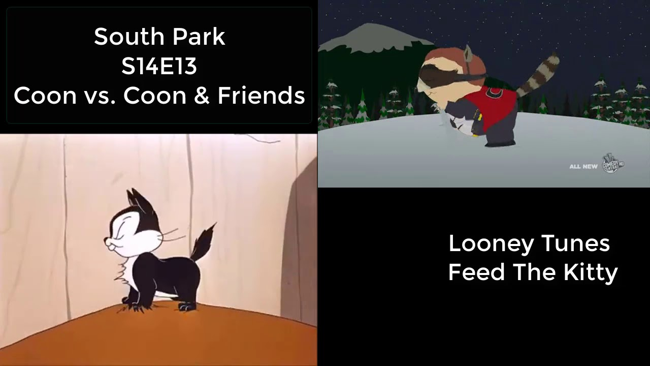 REFERENCE: Looney Tunes Feed The Kitty - South Park S14E13