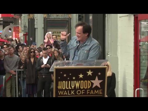 Quentin Tarantino Star on Hollywood Walk of Fame Ceremony - Samuel L. Jackson