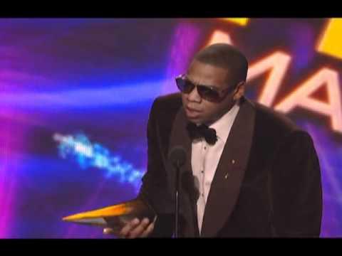 Jay-Z Wins Favorite Rap/Hip-Hop Male Artist - AMA 2009