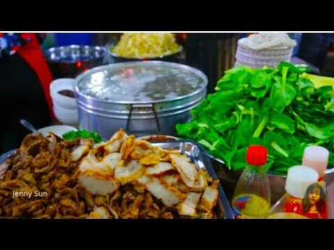 Cambodian Street Food - Daily Life Activities And Food Compi