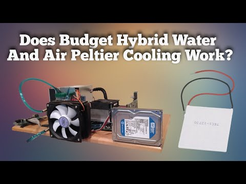 Does Hybrid Water, Air, and Peltier Cooling Work?