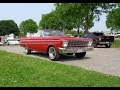 1964 Ford Falcon Sprint Convertible In Red & 260 Engine Sound On My Car Story With Lou Costabile