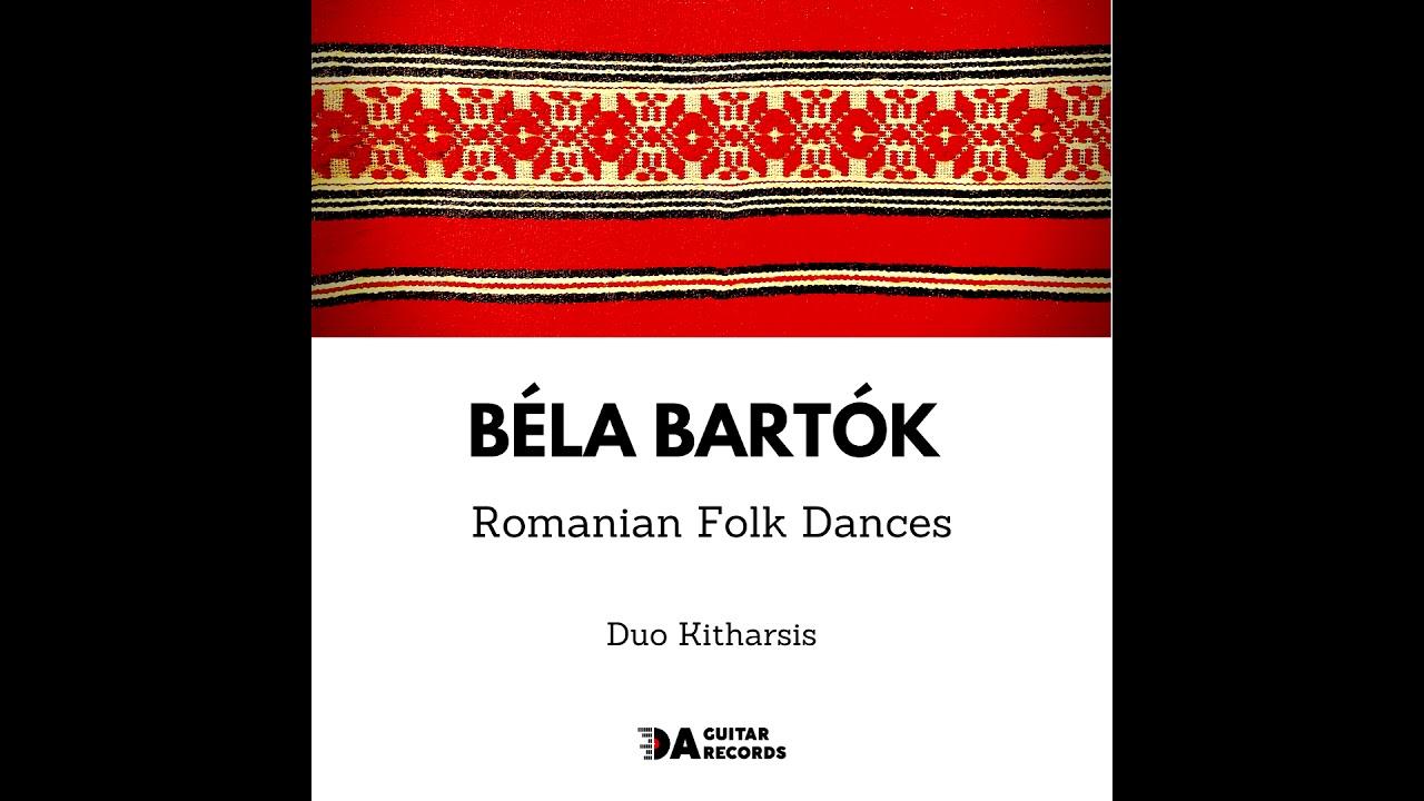 #DuoKitharsis Béla #Bartók (1881-1945) - Romanian Folk Dances #guitar #twoguitars #daguitarrecords