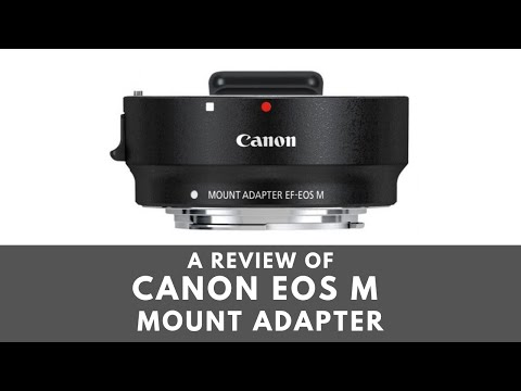 Canon EOS M Mount Adapter for EF/EF-S Lenses - Review and Testingиз YouTube · Длительность: 4 мин48 с