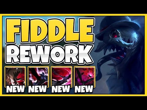 *NEW* REWORKED FIDDLESTICKS IS ACTUALLY AMAZING! 3 CLONES PASSIVE + ULT! - League of Legends