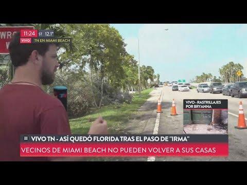 Así quedó Florida tras el paso de Irma