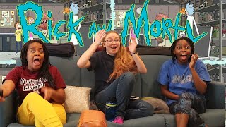 """Rick and Morty - Season 2 Episode 1 """"A Rickle in Time"""" REACTION!"""