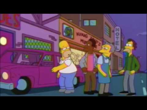 Homer Alters His Consciousness
