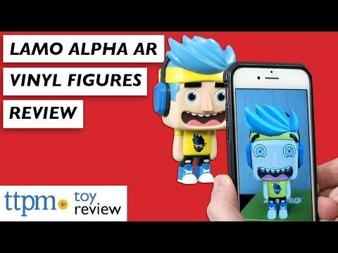 Lamo Alpha AR Collectible Vinyl Figures from Wicked Cool Toys