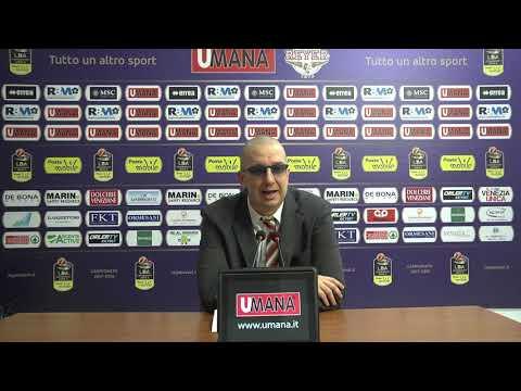 Umana Reyer - Red October Cantù: De Raffaele post partita