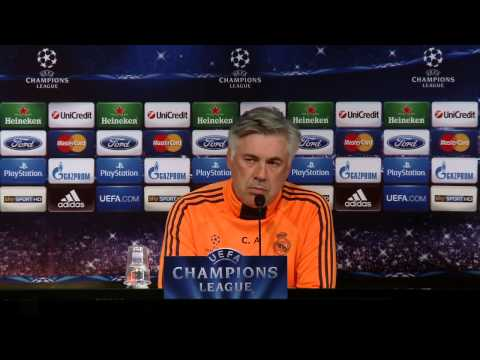 #JuveReal Conferenza stampa del Real Madrid - Real Madrid press conference
