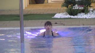 Zadruga 4 - Dok su nominacije u toku, Miljana se rashladila u bazenu - 20.02.2021.