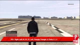 GTA 5 Cheats: Spawn Crop Duster