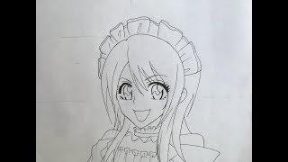 How to draw Misaki Ayuzawa (Kaicho wa Maid-sama)