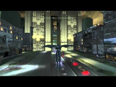 Batman: Arkham City Glitch Walkthrough - Escaping Arkham City and Exploring Gotham City