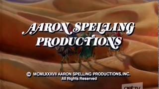 Aaron Spelling Productions / CBS Television Distribution logos (1987/2007)