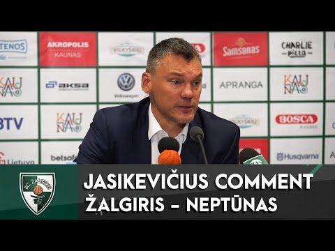 """Š.Jasikevičiaus komentaras po rungtynių su Klaipėdos """"Neptūnu"""""""