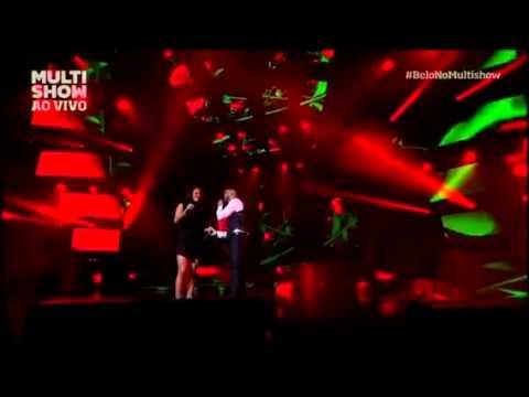 Belo e Ju Moraes - Linda Rosa - Multishow Ao Vivo