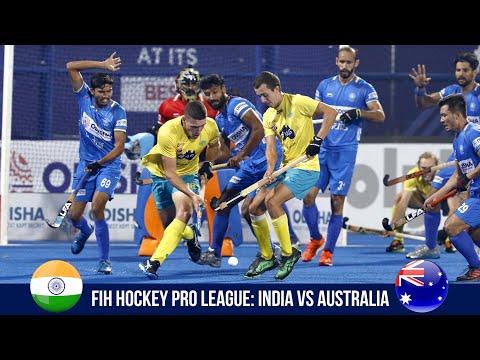 FIH Hockey Pro League Match 6 Highlights: India Vs Australia