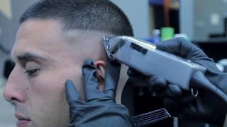 How To | Cut Easy Bald Fade with a Freestyle Design