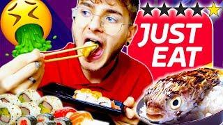 🤮🍣 Provo il SUSHI PEGGIO VALUTATO di JUST EAT!!! *Pazzesco*