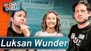 Chat Duell #74 | Luksan Wunder gegen Andreas, Lisa & Fabian Krane