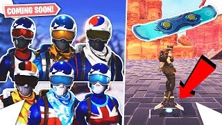 NOUVEAU SNOWBOARD COMING TO FORTNITE - ALPINE ACE SKINS RETURNING?!