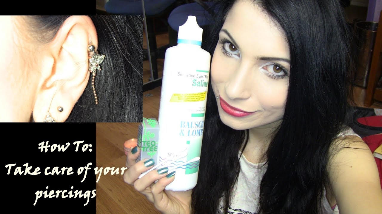 How To: Take Care Of Your Piercings/ Get Rid Of Hypertrophic Scarring or  Keloid