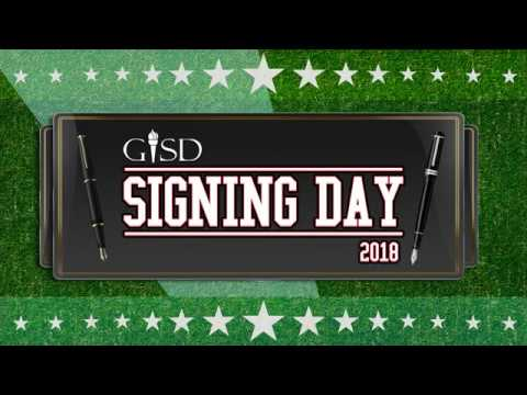 Garland ISD: Athletic Signing Day 2018