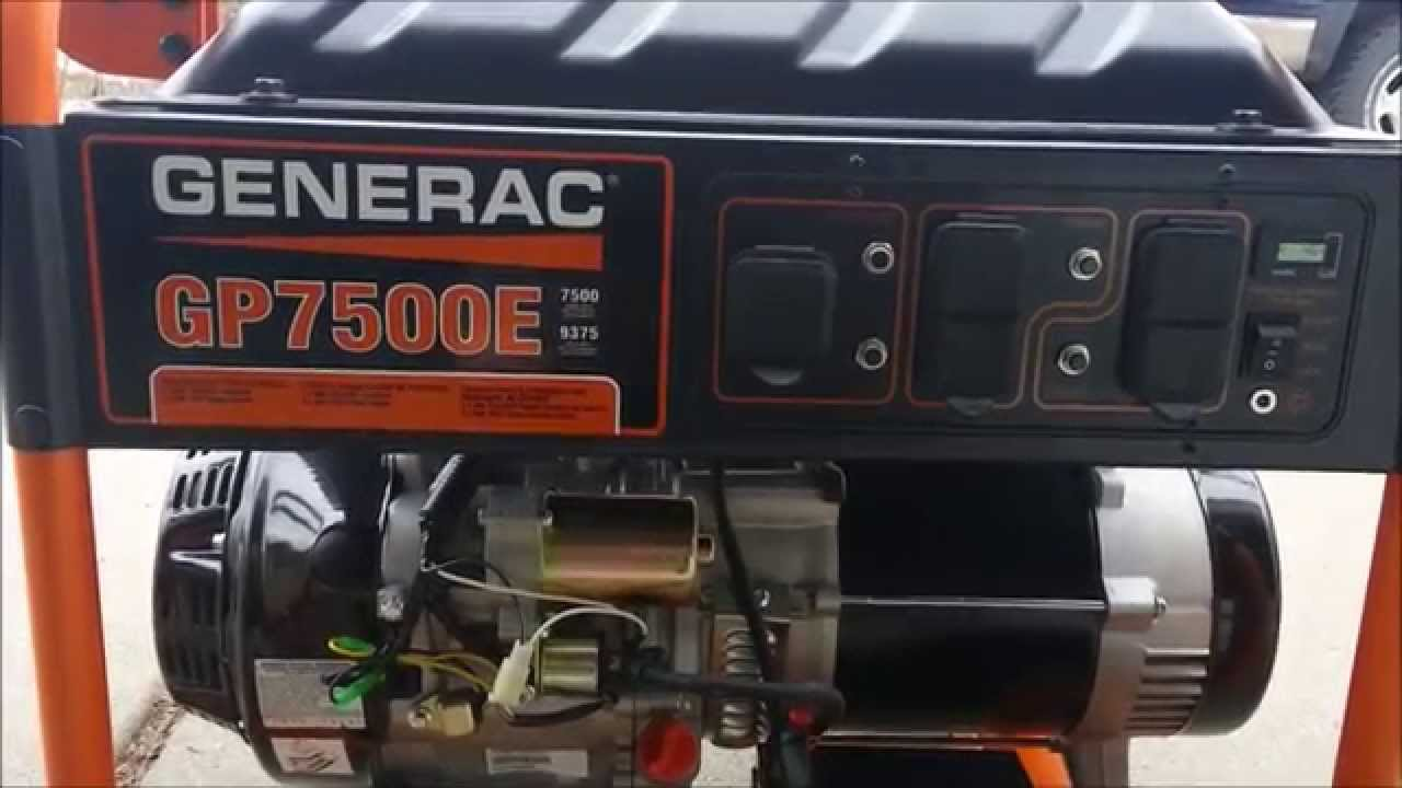 Generac Gp7500e Consumer Review - The Good  The Bad  And The Ugly