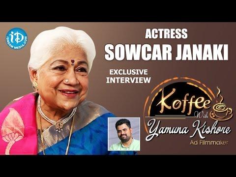 Actress Sowcar Janaki Exclusive Interview    Koffee With Yamuna Kishore #12    #367