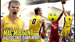 Mac McClung HAS LOST HIS MIND!!! Tries To BREAK THE INTERNET w/ INSANE DUNKS @KennerLeague!!!