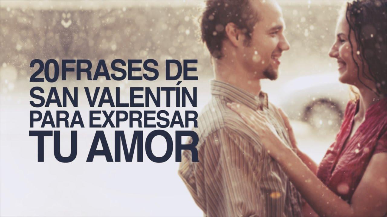 20 Frases de San Valentín para expresar tu amor #1