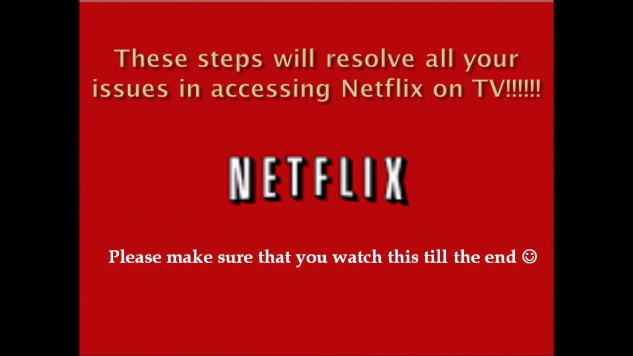 Error: Sorry we could not reach the Netflix service ...