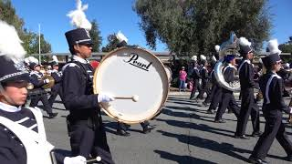 Irvington High School JV Marching Band - Del Mar Band Review - 10/7/17