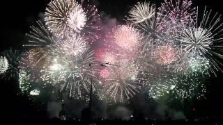 Final feu d'artifice Fêtes de Genève