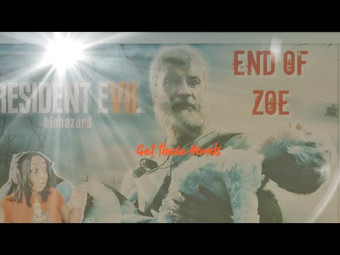 JazzyGuns Funniest And Most Savage Moments In Resident Evil 7 Biohazard End Of Zoe Episode