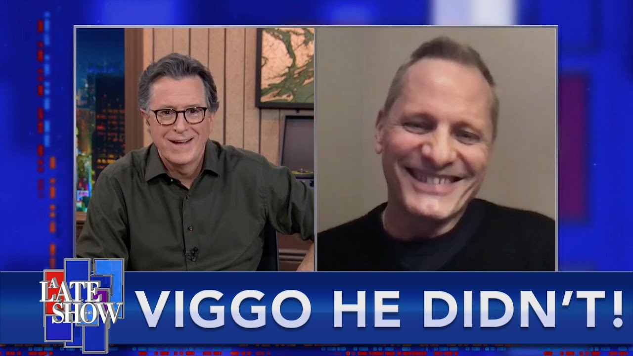 Viggo Mortensen Clears Up Some Rumors On A Late Show