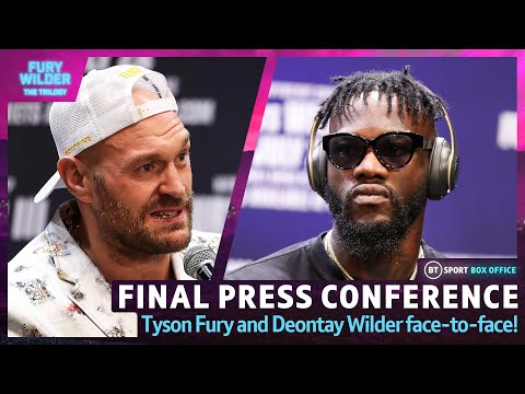 Tyson Fury v Deontay Wilder 3: Full Final Press conference