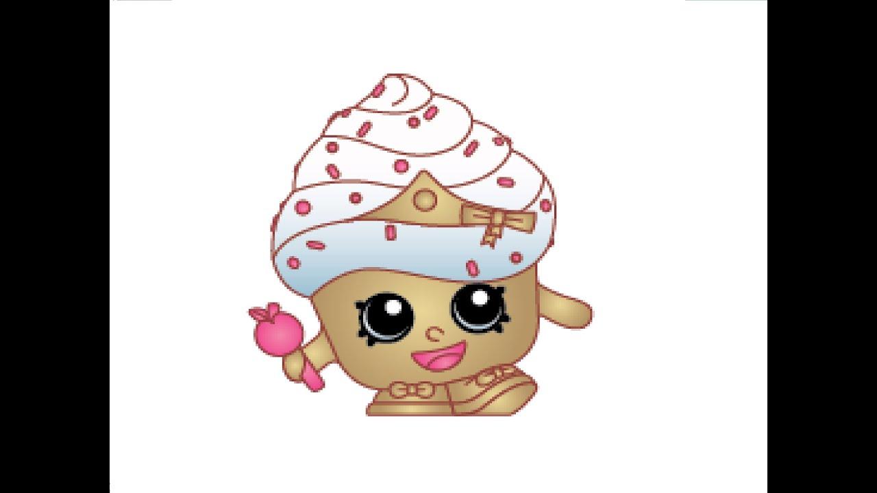 How To Draw A Cupcake Queen Как нарисовать Cupcake Queen