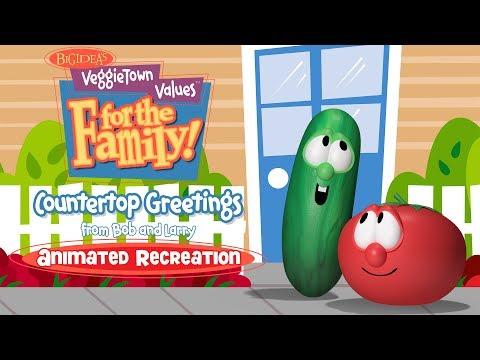 VeggieTown Values for the Family!: Countertop Greetings (Blender Recreation)