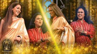 Simran & Brinda Master's Electrifying Dance On Stage! Fans Go Hyper! Galatta Wonder Women Awards