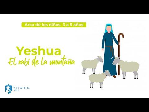 Yeshua el Rabí en la montaña - Clase de Torá para Niños