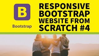 How to Build a Responsive Bootstrap Website From Scratch Part 4
