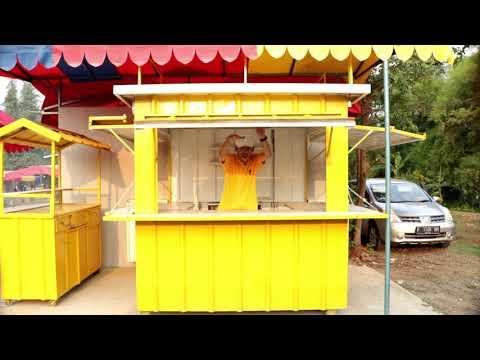 Booth Kontainer Dan Gerobak,  Home Industri. By : Irwan Permata  . Unboxing Sekaligus Review.