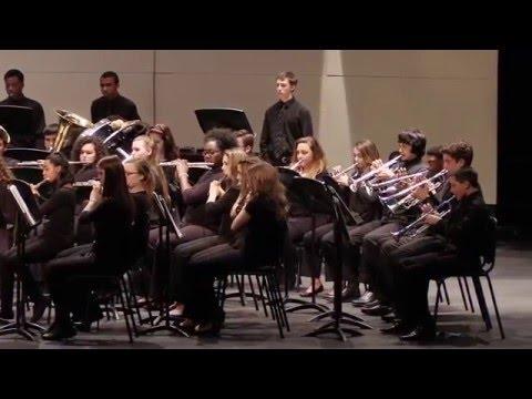 Cape Fear High School Concert Band - Lindbergh Variations - Robert Sheldon
