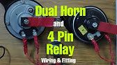How To Wire A 12v Horn Relay Easy And Simplest Youtube