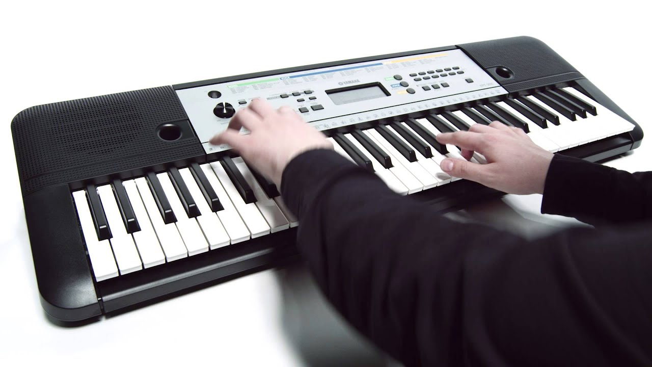 yamaha ypt 255 digital keyboard youtube