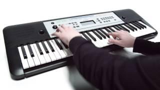 vuclip Yamaha YPT-255 digital keyboard