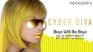 【CYBER DIVA】Boys Will Be Boys【VOCALOID4カバー】